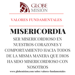 valores fundamentales Misericordia