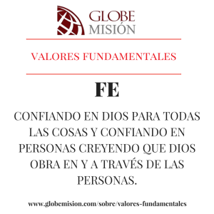 valores fundamentales fe